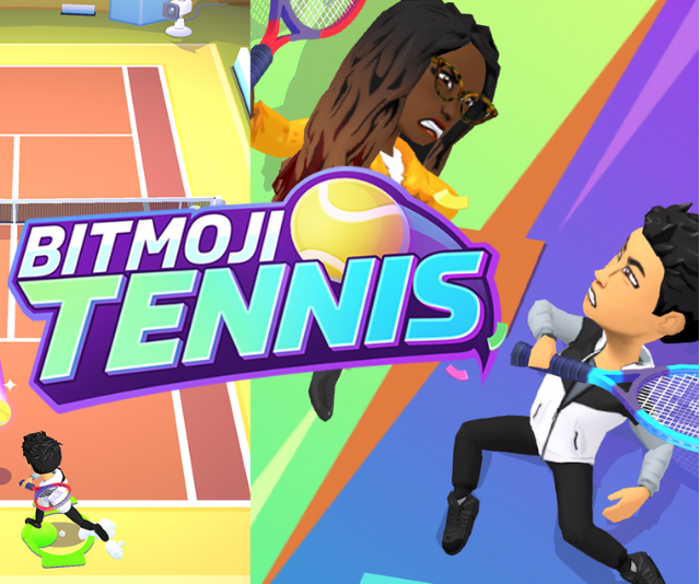 **Bitmoji Tennis:** As tennis mania hits Australia, Snapchat has launched a brand new 'Bitmoji Tennis' game – Snapchatters can train solo, challenge a friend to a match, or hit the courts with a group of friends for a round of winner-takes-next. Set to be the deuce-iest game yet.