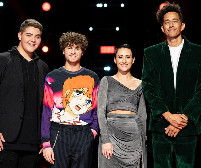 *The Voice's* top four for 2019.