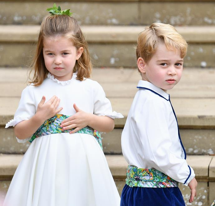 Prince George and Princess Charlotte might well be in the bridal party for the wedding of Charlie's elder brother later this year!