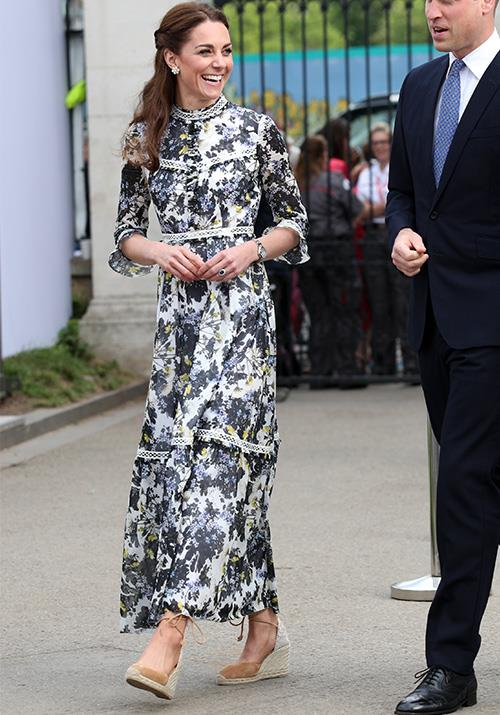 "In 2019, Kate wowed us yet again in another floral number for the Chelsea Flower Show. Funnily enough, the chic Erdem design has proven to be so popular in royal circles that no less than [two other royals](https://www.nowtolove.com.au/fashion/fashion-trends/kate-middleton-erdem-dress-55934|target=""_blank"") have been spotted wearing the exact same dress!"