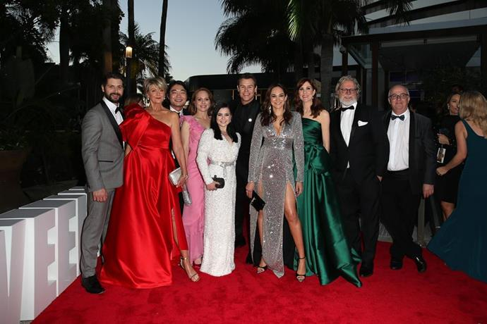 The cast of *Doctor Doctor* at the TV WEEK Logie Awards.