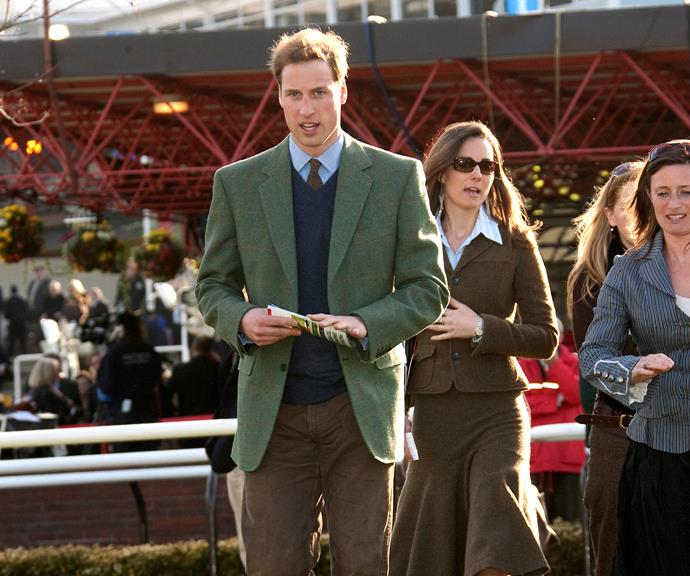The couple pictured at the Cheltenham Horse Racing Festival in March 2007.