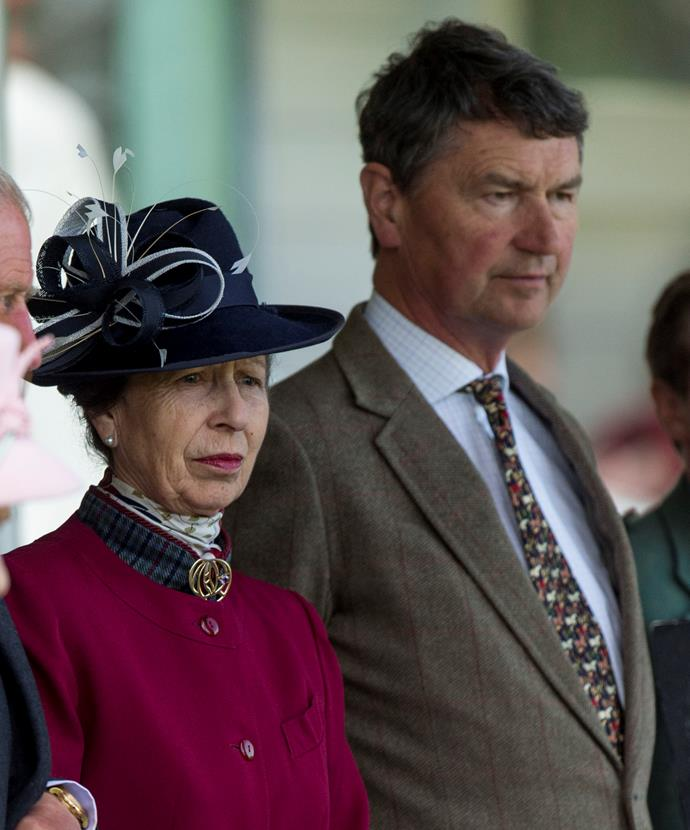 Princess Anne and her husband Timothy are mourning the loss of Timothy's mother.