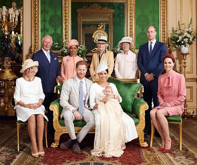 Archie's christening featured some stunning ensembles.