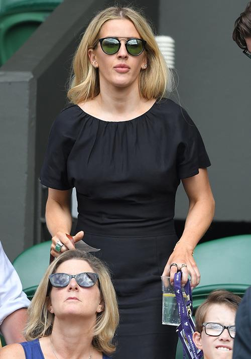 And playing it a little differently to the aforementioned celebs, Ellie rocked a black frock on the day.