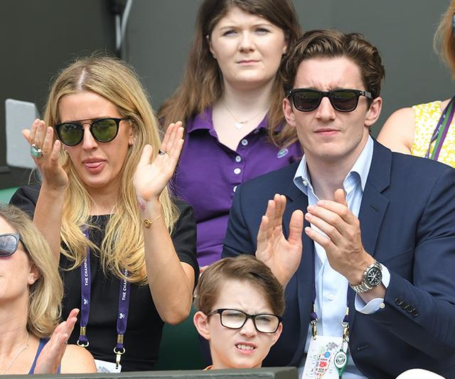 British singer Ellie Goulding and partner Caspar Jopling enjoyed a day in the sunshine together.
