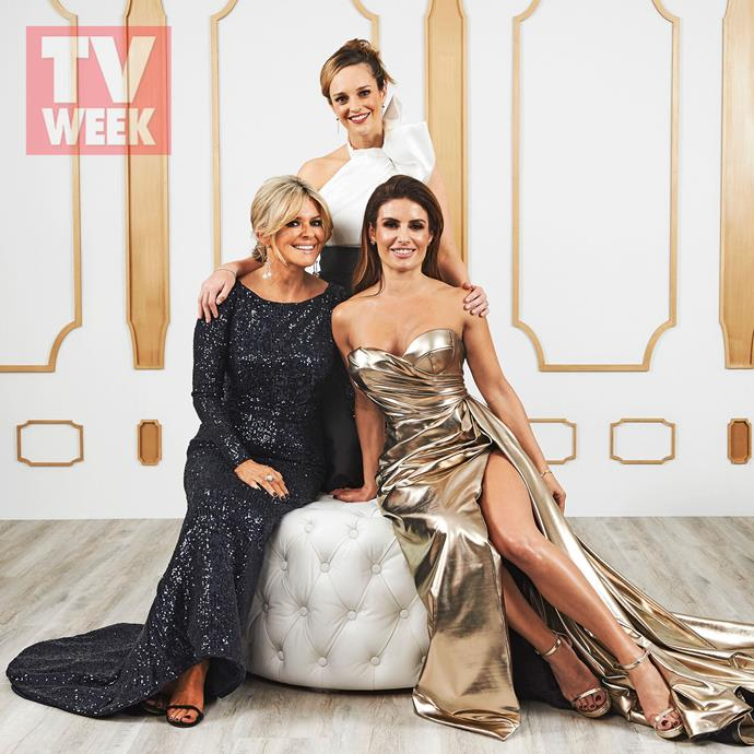 Emily Symons, Penny McNamee and Ada Nicodemou at the TV WEEK Logie Awards.