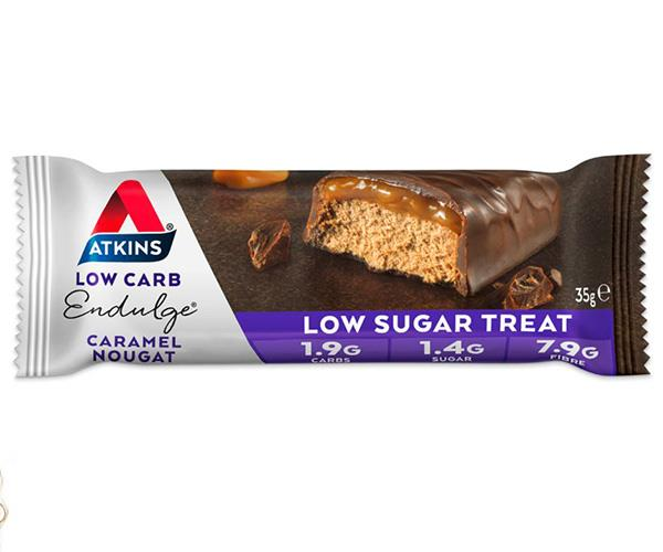 These Atkins bars that contain just 1.4g of sugar are the perfect treat!