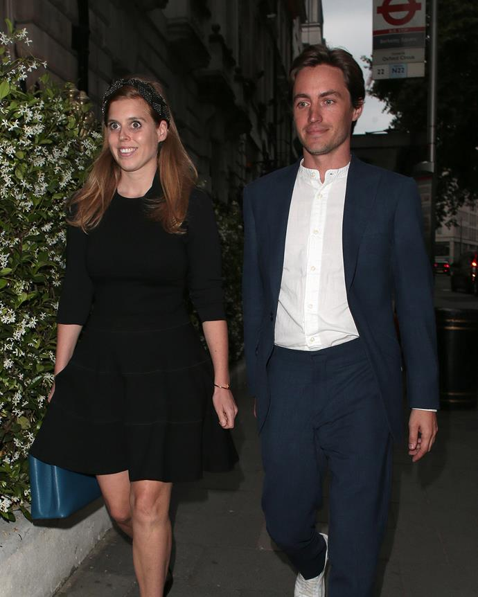 Can you spot Princess Beatrice's gorgeous new accessory?