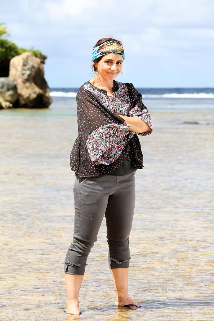 """**Pia Miranda, 46, actress, CHAMPION** <br><br> *Looking For Alibrandi* star Pia is ready for the challenge of *Survivor* after years in the world of film, television and stage productions. <br><br> """"I have been watching *Survivor* since the first season in 2000 and I've been sitting on the couch for almost 20 years saying I could win, so I guess now is my chance!"""" says Pia. """"I really want to play as a fan and be someone that a fan would enjoy watching."""" <br><br> FUN FACT: Pia's on-screen dad in *Looking For Alibrandi* was played by Anthony LaPaglia - yep, brother to *Australian Survivor* host JLP."""
