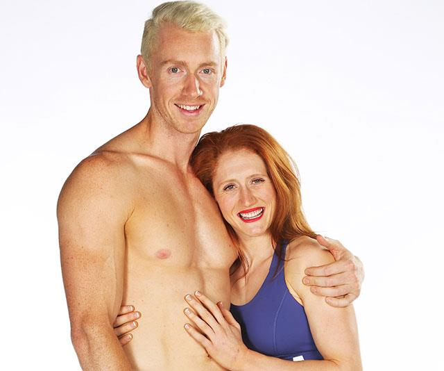 Ben and Olivia had only been dating a few weeks when they signed up for another shot at *Australian Ninja Warrior*.