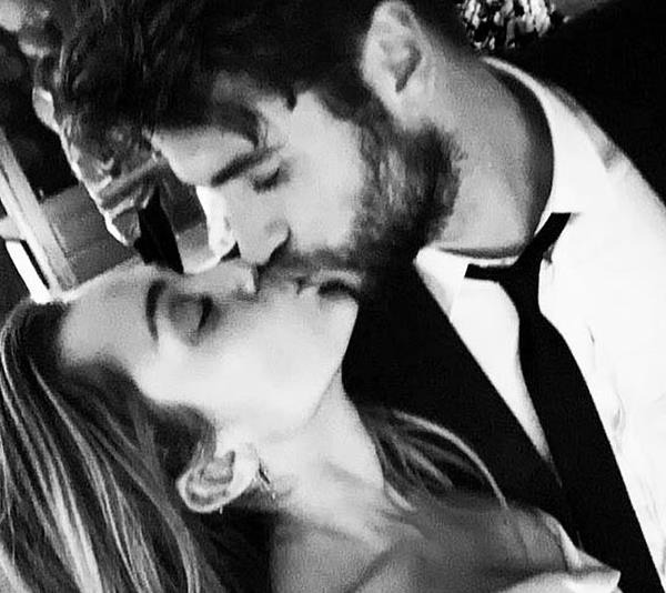 Miley and Liam tied the knot in December, 2018.