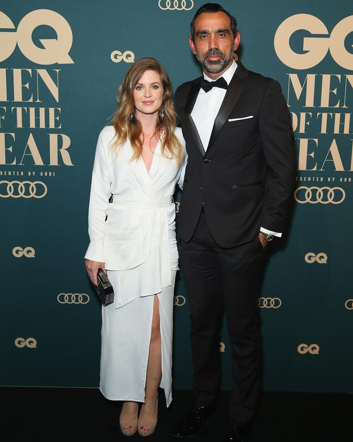 The couple at the GQ Men of the Year Awards.