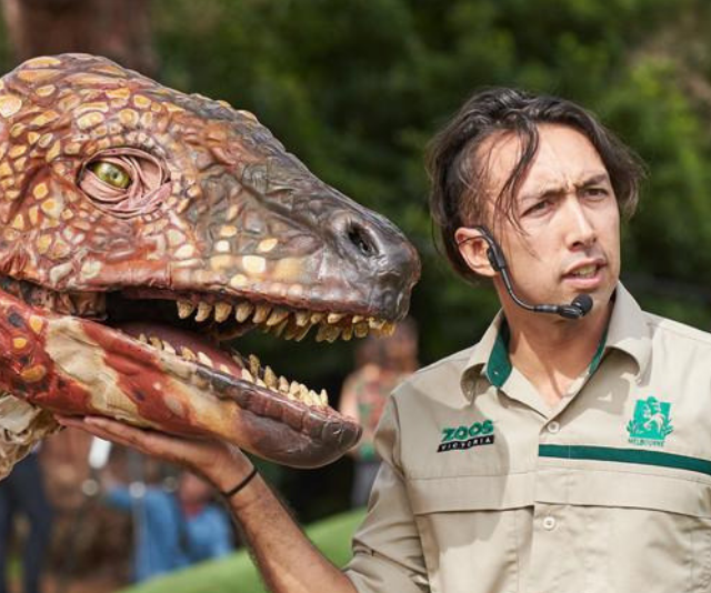 Melbourne Zoo's Dino Park
