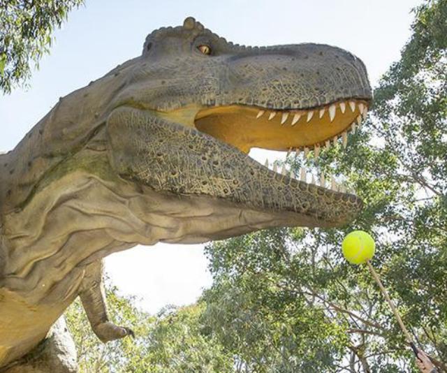 Werribee Open Range Zoo is Zoorassic: Dinos After Dark