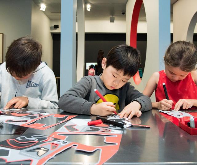 Alexander Calder Workshop For Kids at the National Gallery of Victoria.
