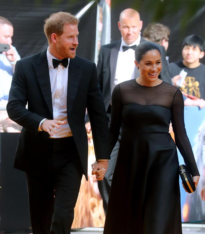 Meghan and Harry have already made a *big* impression on the red carpet.