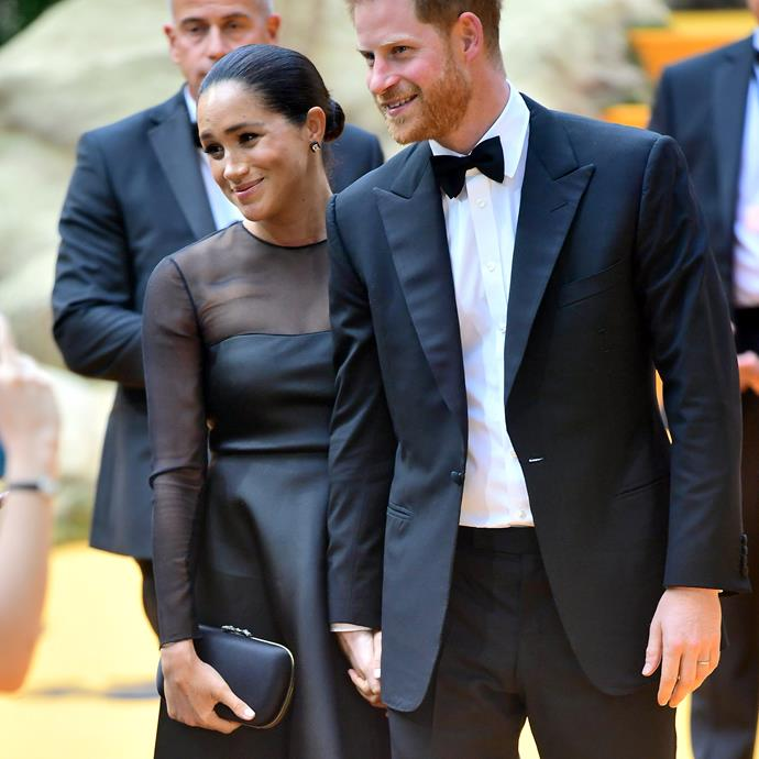 Meghan and Harry had an unforgettable night at the premiere.