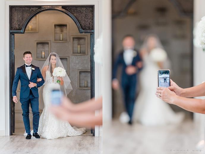 Do you think people need to put their phones away at weddings?
