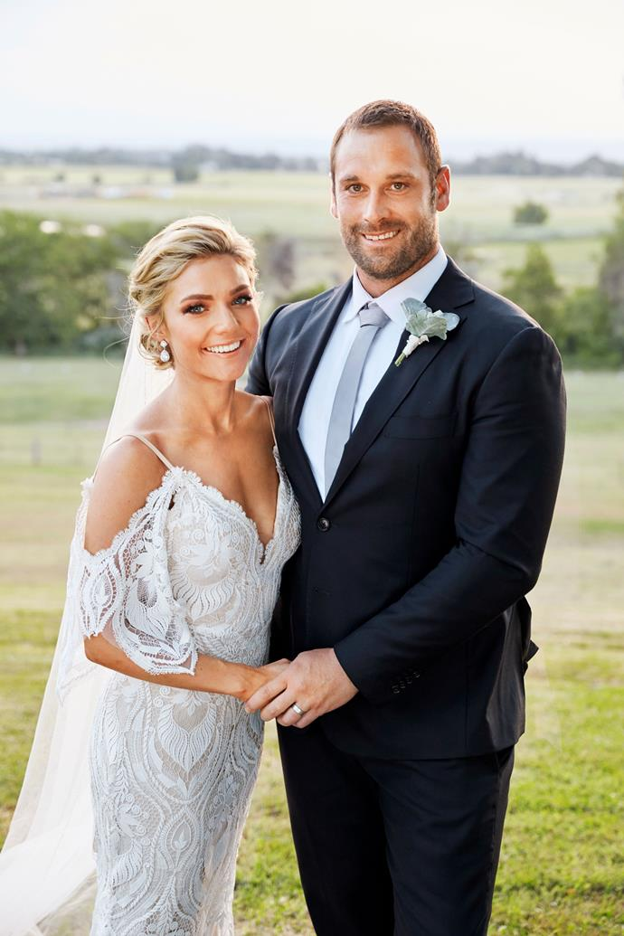 Jamine and Robbo finally tied the knot on *Home and Away!*