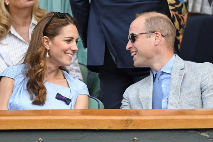 Wills knows what's up! Kate's earrings had a special meaning, it seems.