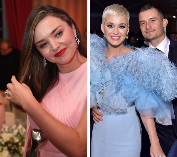 Miranda opened up about her ex Orlando Bloom's relationship with Katy Perry.