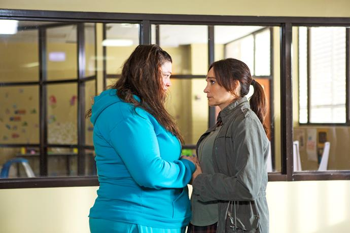 Franky makes a dramatic return to Wentworth!
