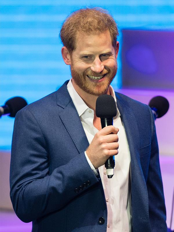 Loyal and hardowrking: Prince Harry certainly ticks those Virgo boxes.