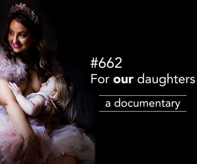 """Amberley Harris' [documentary #662](https://www.indiegogo.com/projects/662-for-our-daughters--2#/