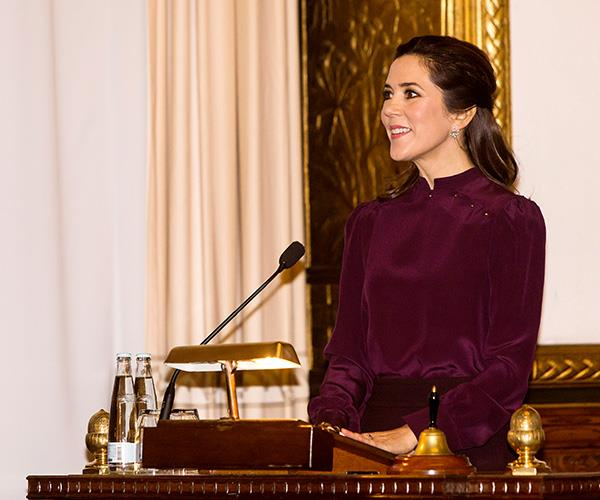 Crown Princess Mary has shown her humanitarian side on numerous occasions.