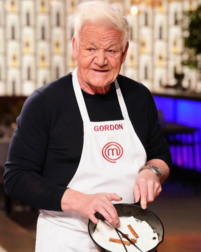 "Celebrity chef Gordon Ramsay joined in on the fun saying, ""Me doing a demo on #MasterChef Season 50....:"