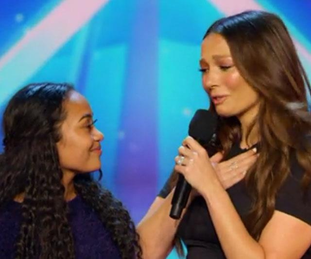 Ricki-Lee Coulter was left in tears after this 15-year-old's stunning performance.