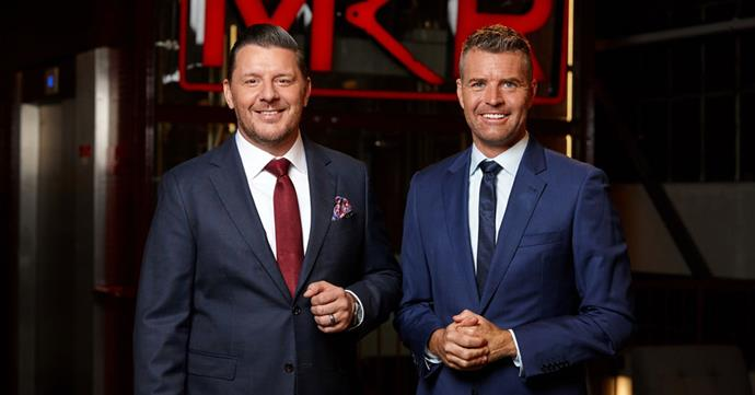 Manu says Pete (right) is supportive of his new TV gig.