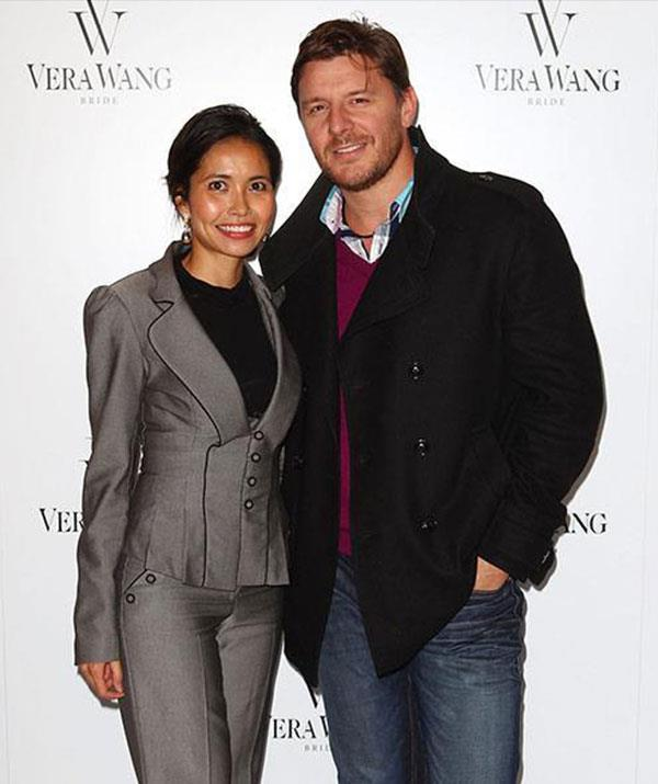 Manu proposed to Clarissa in 2013 and they tied the knot in January, 2018.