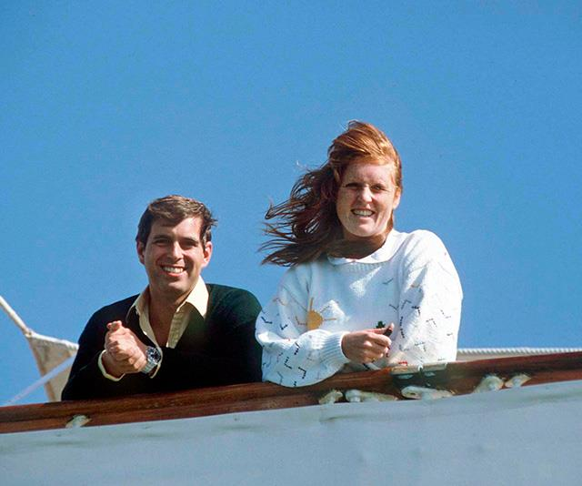 Back in the day, Sarah Ferguson and Prince Andrew were pictured looking relaxed together holidaying in Azores, Portugal.