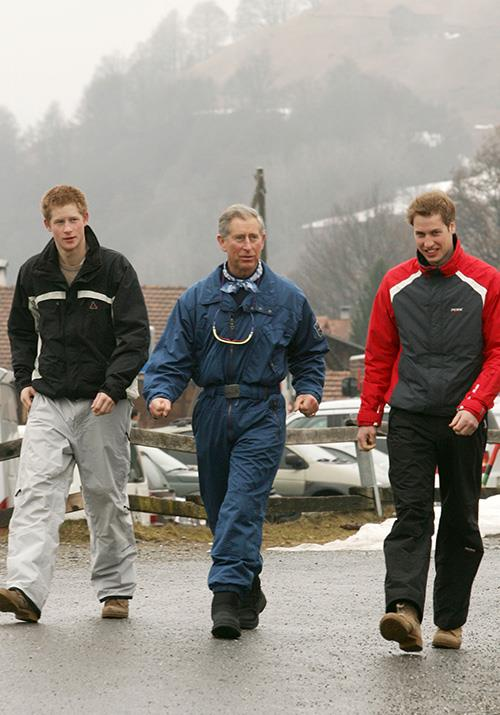 Klosters in Switzerland is another skiing hotspot for the royals. Prince Charles was known to take his boys there on many an occasion.