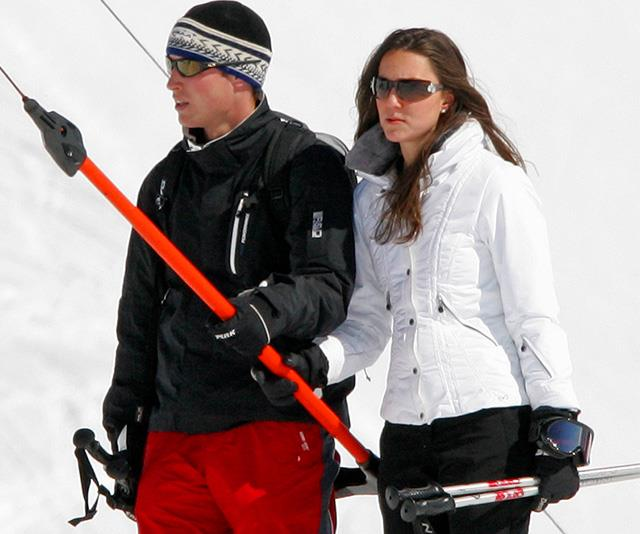 Prince William was definitely a fan - he brought Kate along to the stunning ski destination along a few years later.