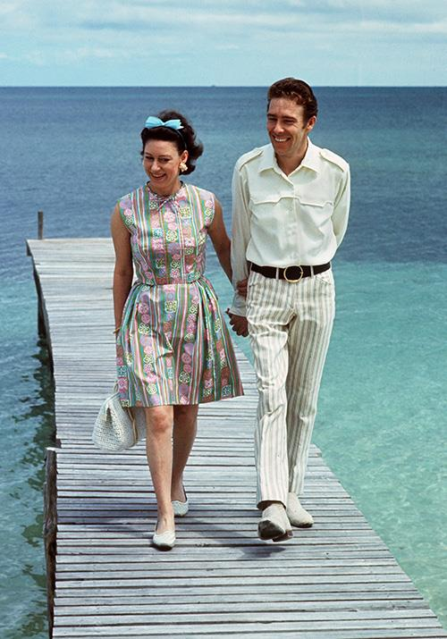 Princess Margaret enjoyed a stay in the Bahamas with Antony Armstrong-Jones for their honeymoon. While their marriage didn't go the distance, we're sure this dreamy-looking trip provided plenty of good memories.