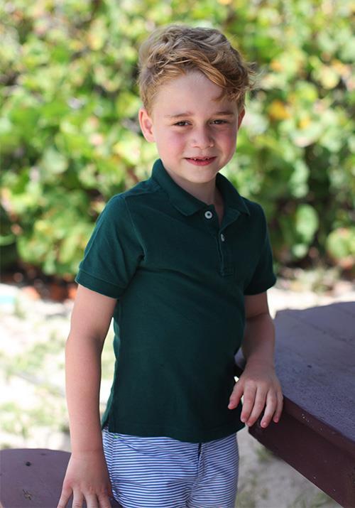 How grown up is Prince George!