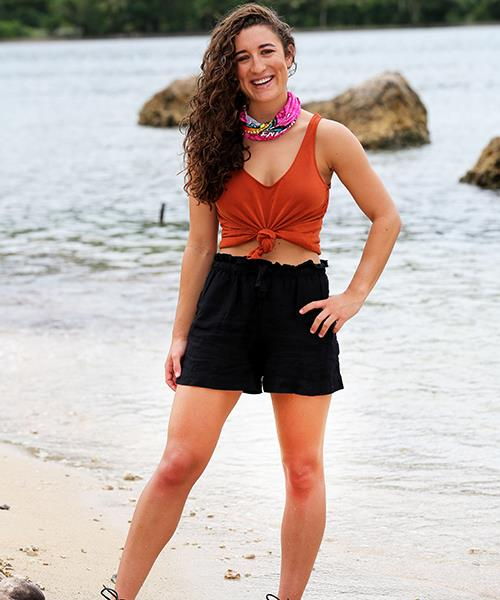 """**Daisy Richardson, 24, travel agent, CONTENDER** <br><br> Moving away from her family into a world of new people at boarding school and learning to adapt is one reason Daisy thinks she's got what it takes to win *Survivor*. """"Boarding school massively shaped who I am as a person and gave me resilience at a really young age,"""" she says."""