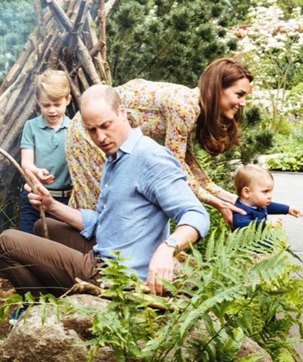 Prince William and Duchess Kate enjoying quality time with Prince George and Prince Louis.