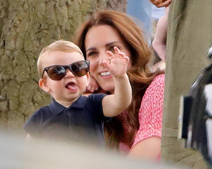 Meanwhile Kate and Louis had some fun of their own!