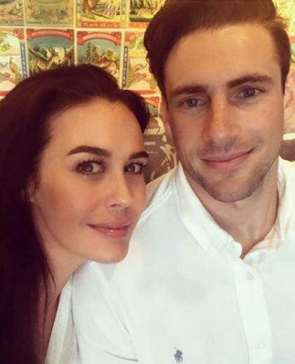 Shaun is engaged to model Megan Gale.