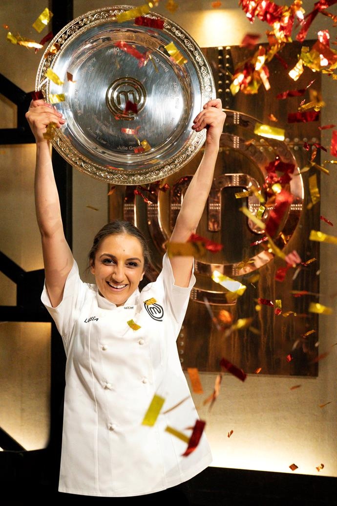 Larissa Takchi is the youngest winner in MasterChef Australia history.