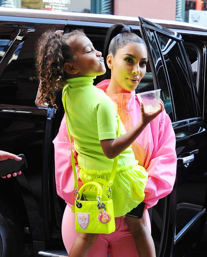 Kim Kardashian's daughter North West is already a style icon...