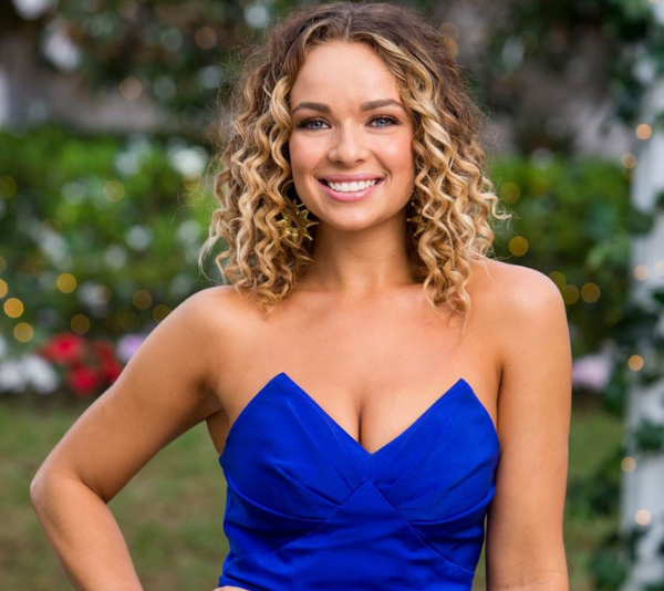 Abbie was in Matt Agnew's season of The Bachelor and quickly grabbed the audience's attention.
