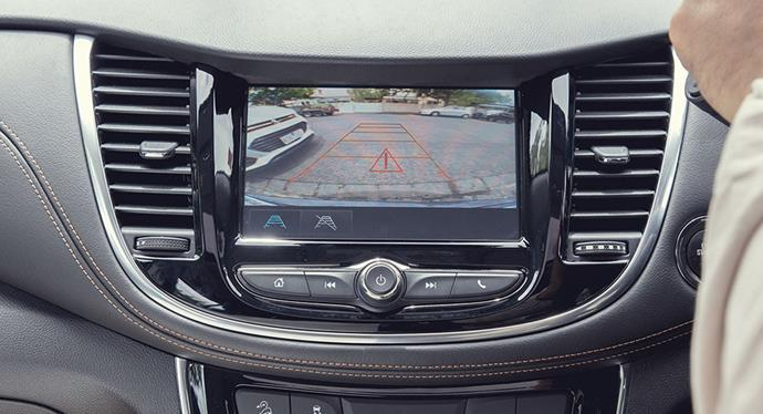 Reversing cameras and rear sensors make parking an SUV much easier (and safer).