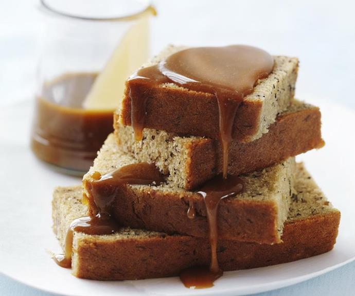"**Banana cake with caramel sauce** <br><br> What's better than regular banana cake? Banana cake with delicious caramel sauce poured on top! <br><br> *See the full Australian Women's Weekly recipe [here](https://www.womensweeklyfood.com.au/recipes/banana-cake-with-caramel-sauce-7434|target=""_blank"").*"