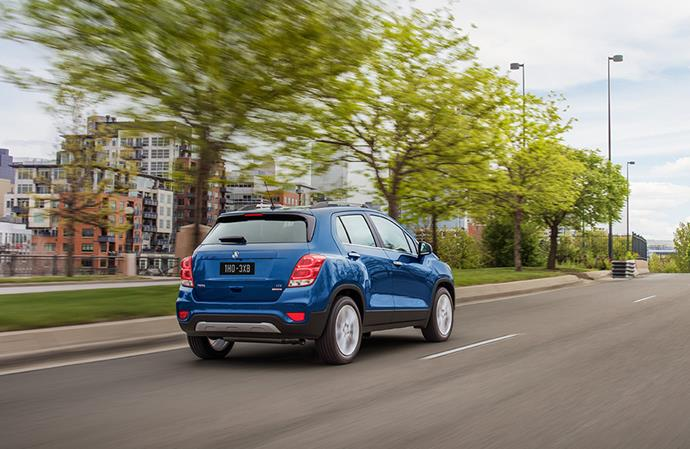 "Smaller SUVs, like the [The Holden Trax](https://www.holden.com.au/cars/trax|target=""_blank""