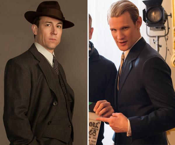 Thank you for this very important information, Tobias Menzies (who is pictured right, next to Matt Smith who previously played Prince Philip).
